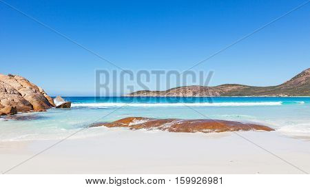Thistle Cove Beach in Cape Le Grand National Park, near the town of Esperance in Western Australia.