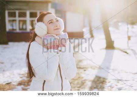 couple walking park. good time. uses communication