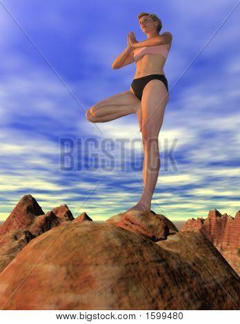 Yoga del desierto