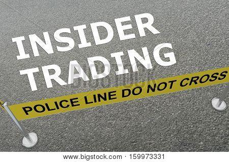 Insider Trading Concept