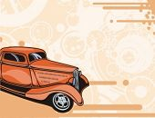 stock photo of street-rod  - Hot Rod Background Series - JPG