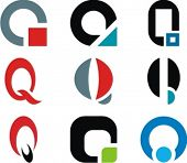 Alphabetical Logo Design Concepts. Letter Q. Check my portfolio for more of this series.