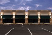 image of commercial building  - Newly constructed commercial space for lease - JPG