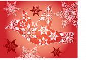 image of snowbird  - winter snow bird decorative - JPG