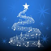 pic of serenade  - Musical christmas tree - JPG