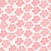 image of poka dot  - rose pattern  - JPG