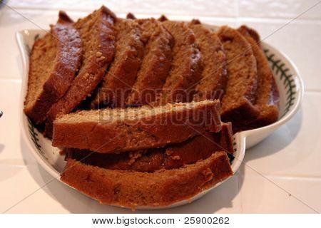pumpkin bread for thanksgiving