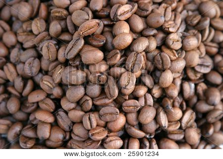 unground coffee beans