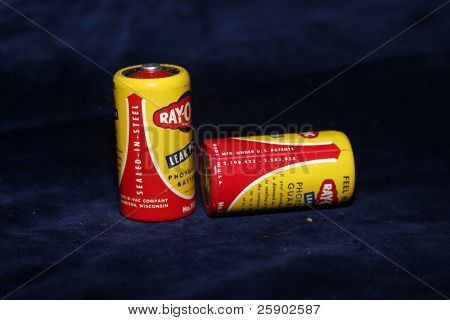 vintage ray o vac batteries