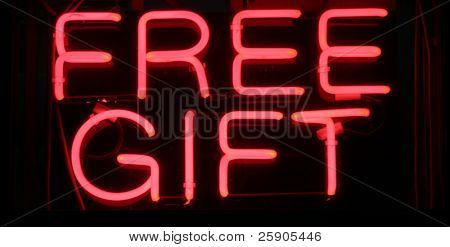 "Neon Sign Series ""free gift"""