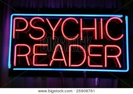 """psychic reader"" ""neon sign"""