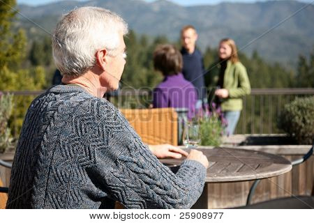 a man enjoys a day of wine tasting in napa valley california