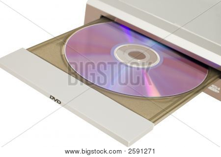 Dvd Player With Disc