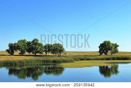 Colorado Landscape On Ladora Lake