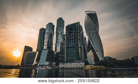 Panorama Of Moscow City New
