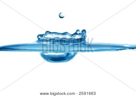 Water Droplet And Splash