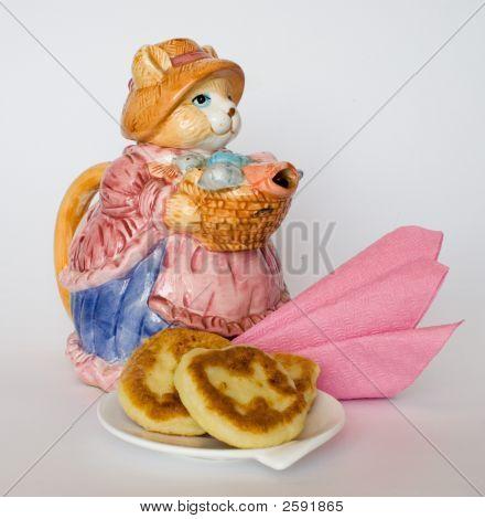 Pancakes With Tea