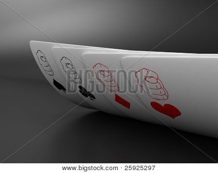 Os cartões