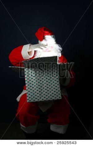 Santa Claus es un regalo de Navidad que se va a dar a algunos afortunado niño o la niña para Navidad como