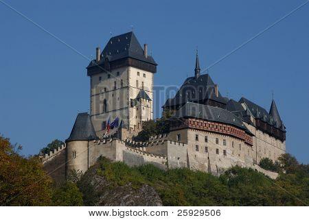 Karlstejn Castle near Prague, Czech Republic