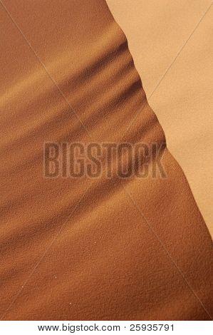 Sanddünen des Erg Chebbi in der Sahara Wüste, Marokko.