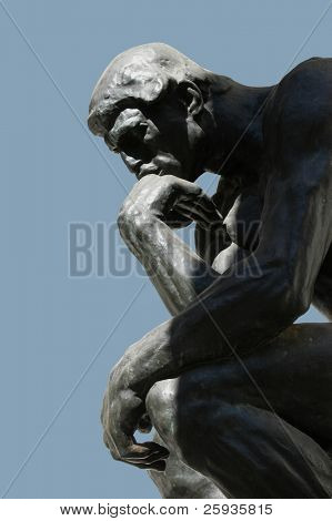 """The Thinker"" Statue"