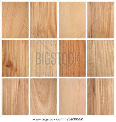 Different wood textures