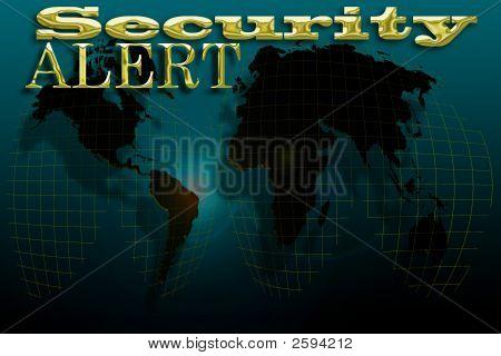 Security Alert Map