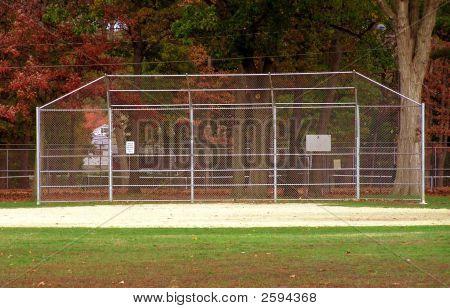 Batter Batting Cage