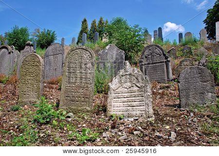 alten jüdischen Friedhof aus 15