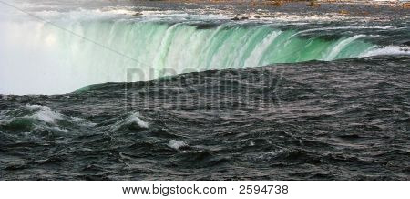 Niagara Falls Over The Edge