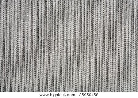 Coarse ribbed gray cotton fabric