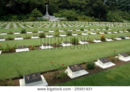 British & Commonwealth War Graves In Yokohama, Japan