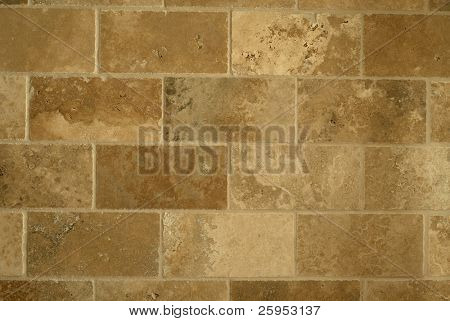 Marble Wall Tile Laid In A Brick Pattern, Ideal As A Background