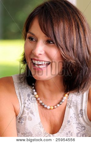 Attractive Middle Age Woman Baby Boomer