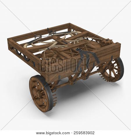 Leonardo Da Vinci Automobile On