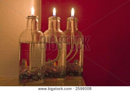 3 Olie Lampjes