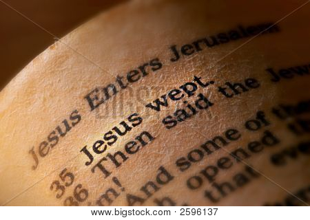 Jesus Wept Passage