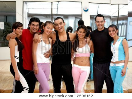 Friends At The Gym