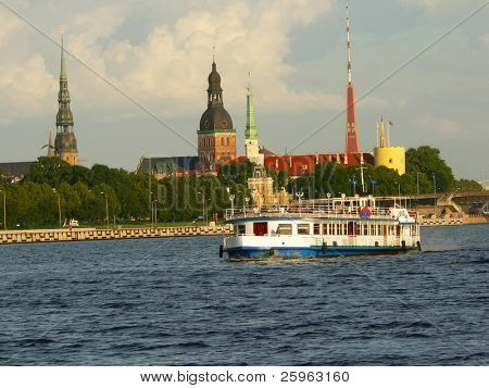 Riga is capital city of Latvia.