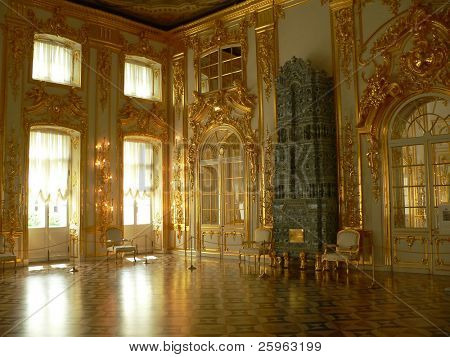 Katherine's Palace Hall in Tsarskoe Selo (Puschkin), Russland