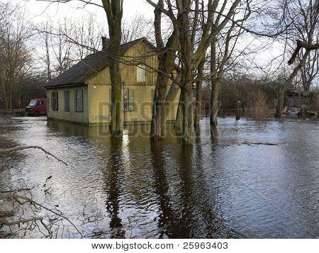 It's flooding down in Riga (Latvia)