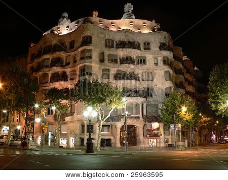 Casa La Pedrera In Barcelona, Spain