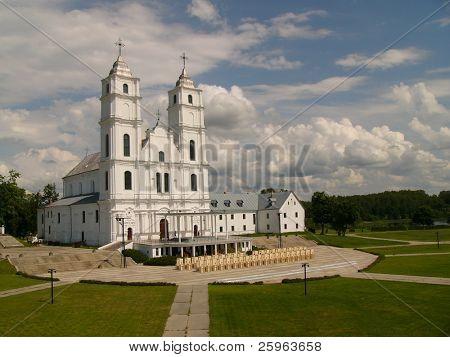 Aglona church in Latvia