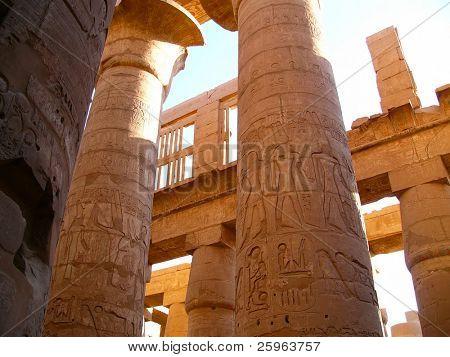 Ancient temple Karnak in Luxor, Egypt