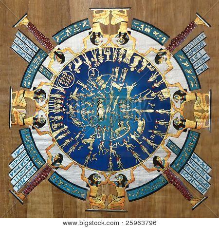 Calendario más antiguo del mundo en Egipto