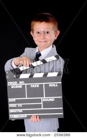 Boy Businessman