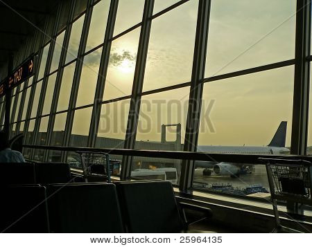 Airport of Helsinki, Finland