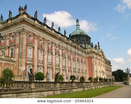 Sans Souci in Potsdam, Berlin, Germany, Europe