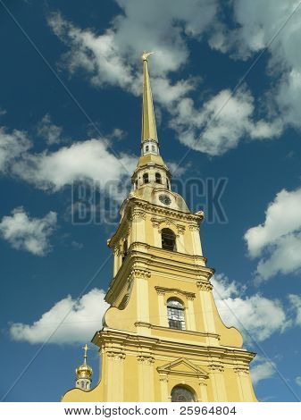 The Peter and Paul fortress, St.Petersburg, Russia